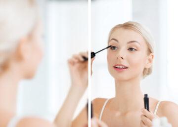 Líčení makeup spatny zrak